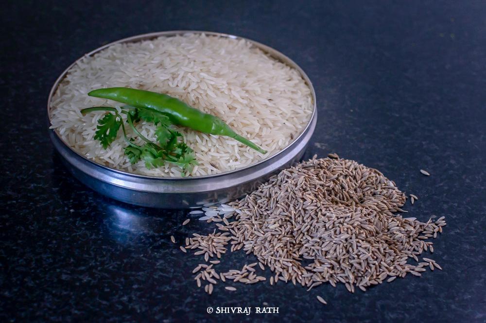 Jeera Rice Ingredient