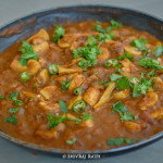 Mushroom Masala | Spiced Mushroom Gravy