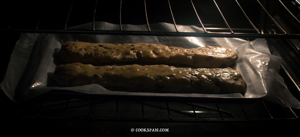 Almond and Choco-chip Biscotti_Baking the Cookie
