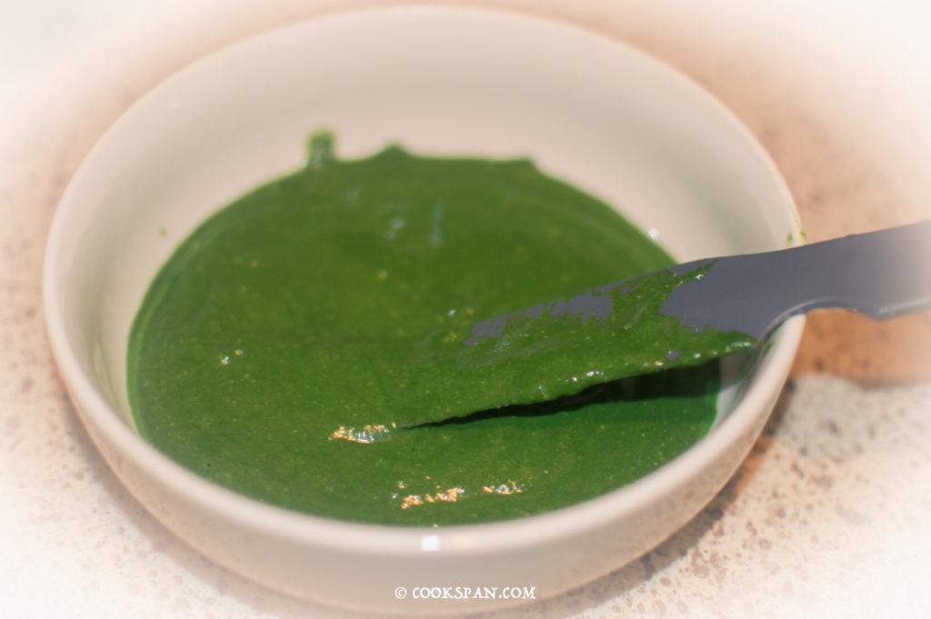Making of the Green Gravy