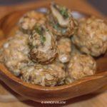 Veggie Stuffed Mushroom Nuggets
