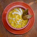 Mitha Khechudi or Sweet Khichdi