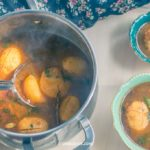 Anda Aloo Jhola or Egg Curry with the Potatoes