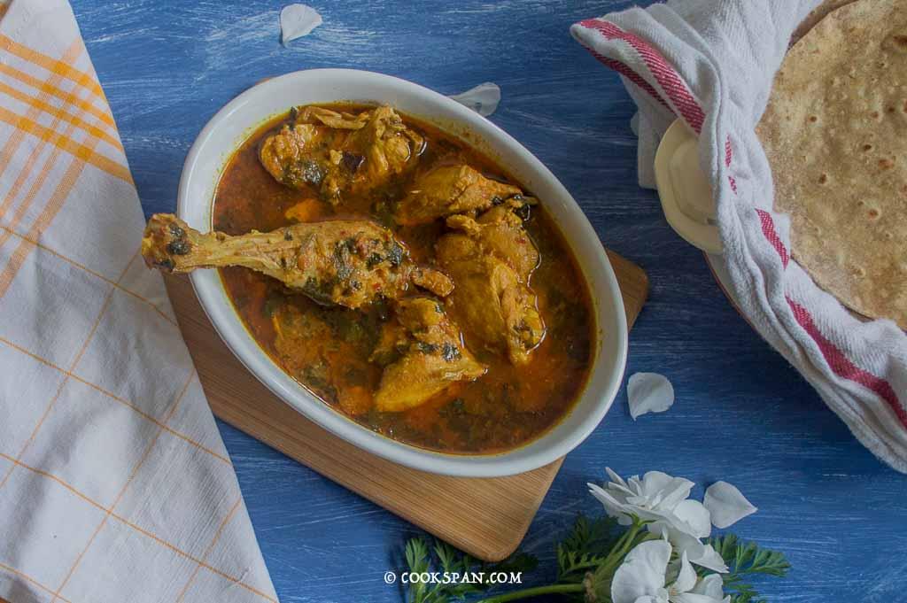 Light Chicken curry
